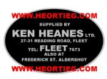 Ken Heanes Ltd Fleet Motorcycles Dealer Decals Transfers DDQ34